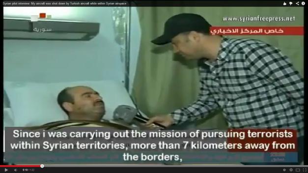 Un avion militar sirian a fost doborât de artileria antiaeriană turcă, în timp ce bombarda poziţii insurgente la 7 km in interiorul Siriei ,de la frontiera